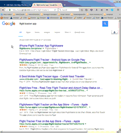 Search Engine Results Page, or SERP