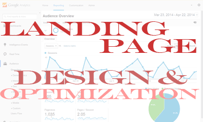 Landing page design and optimization by The Internet Works